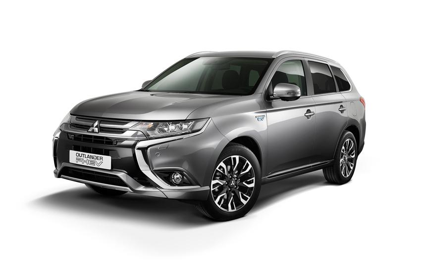 Mitsubishi PHEV Business en Executive
